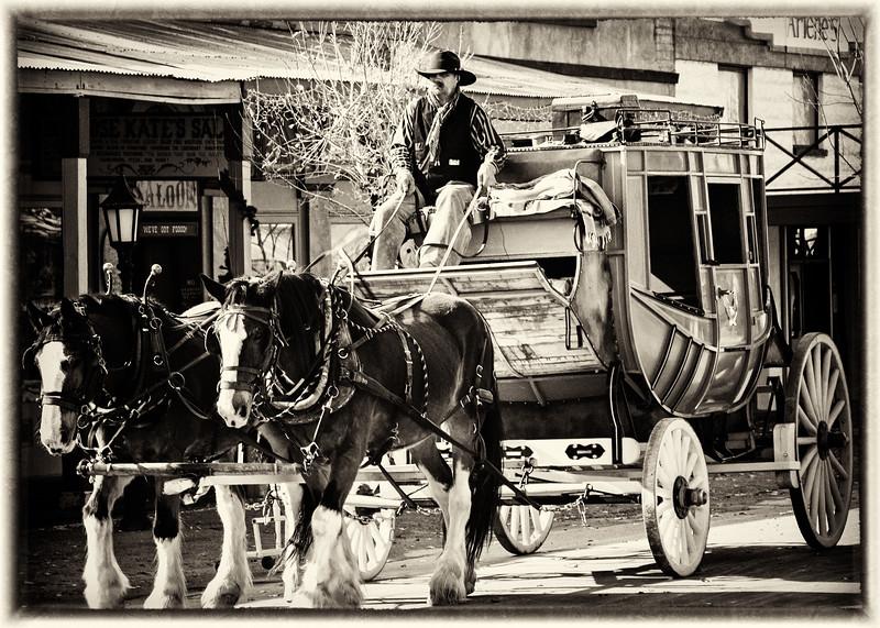 Tombstone Arizona Stagecoach