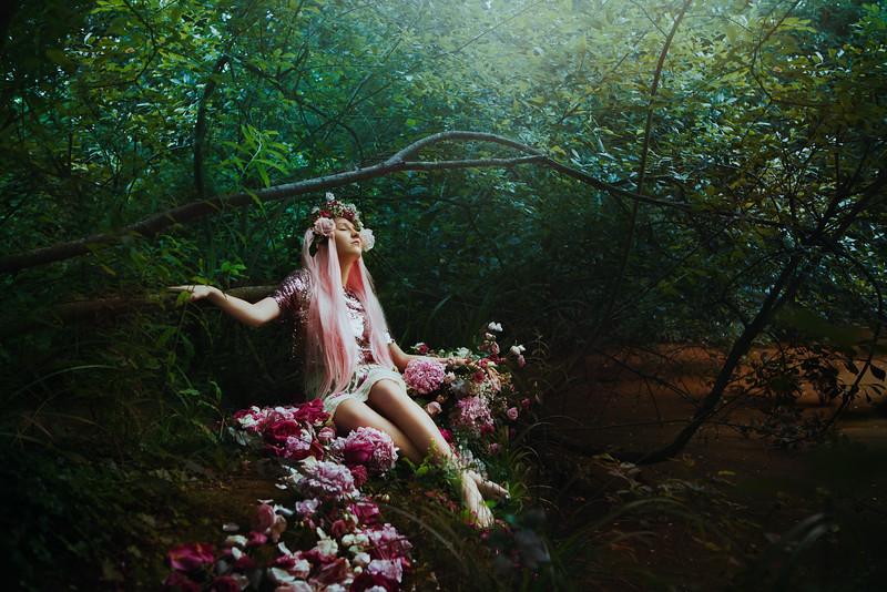 Freya In The Woods