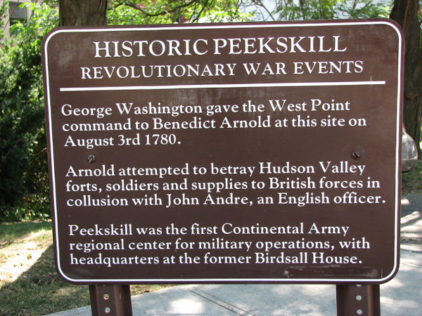 Sign at the site