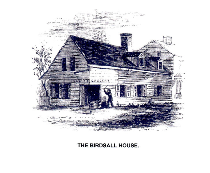 This drawing of the Birdsall House was taken from Benson Lossing's Field Book of the Revolutionary War. It shows how the house appeared in the 1840s.
