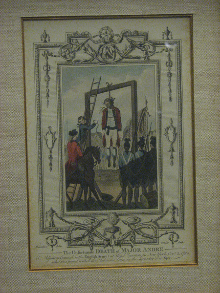 Hanging of Major Andre