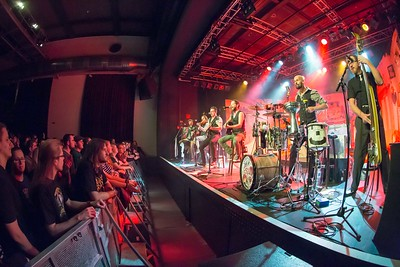 Band Fiddlers Green im Kammgarn