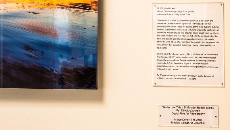 Dr. Elliot McGucken's Fine Art Photography on Walls & in Galleries!