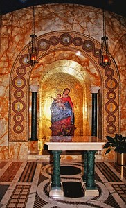 Our Lady of  Pompeii Chapel in the National Shrine