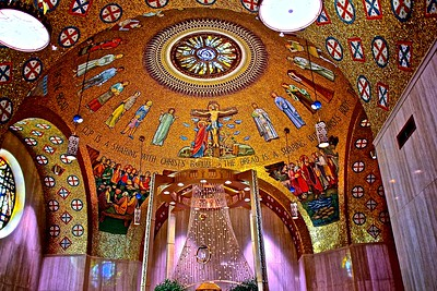 The Blessed Sacrament Chapel in The National Shrine of The Immaculate Conception