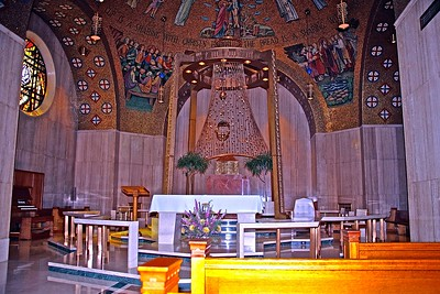 Blessed Sacrament Chapel in Washington DC National Shrine