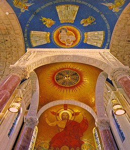 The Glorification of the Lamb Dome above the Main Altar