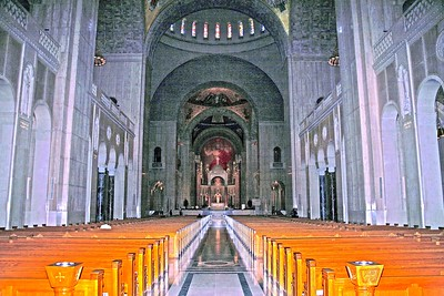 Main Aisle of the National Shrine