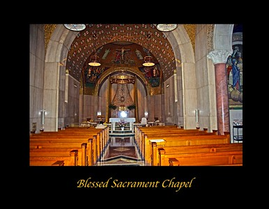 Blessed Sacrament Chapel