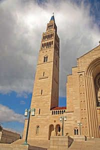 The Knights of Columbus Tower at the National Shrine,