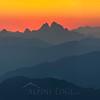 Mountain layers, British Columbia, Canada.