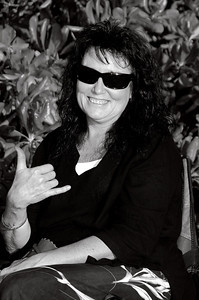 A December, 2009 picture of Shari with her eveready smile; you and your smile are truly missed!