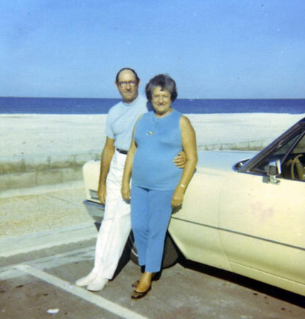 Grandma Rose and grandpa Jim, 1970.