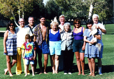 Picture of our family around 1998.
