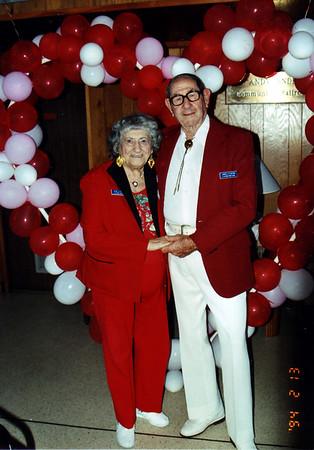 Grandma & Jim on Valentines' Day 1994