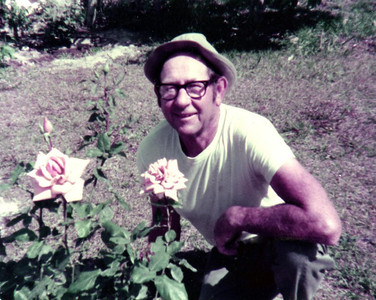 He loved working in the garden and knew how to take care of roses.