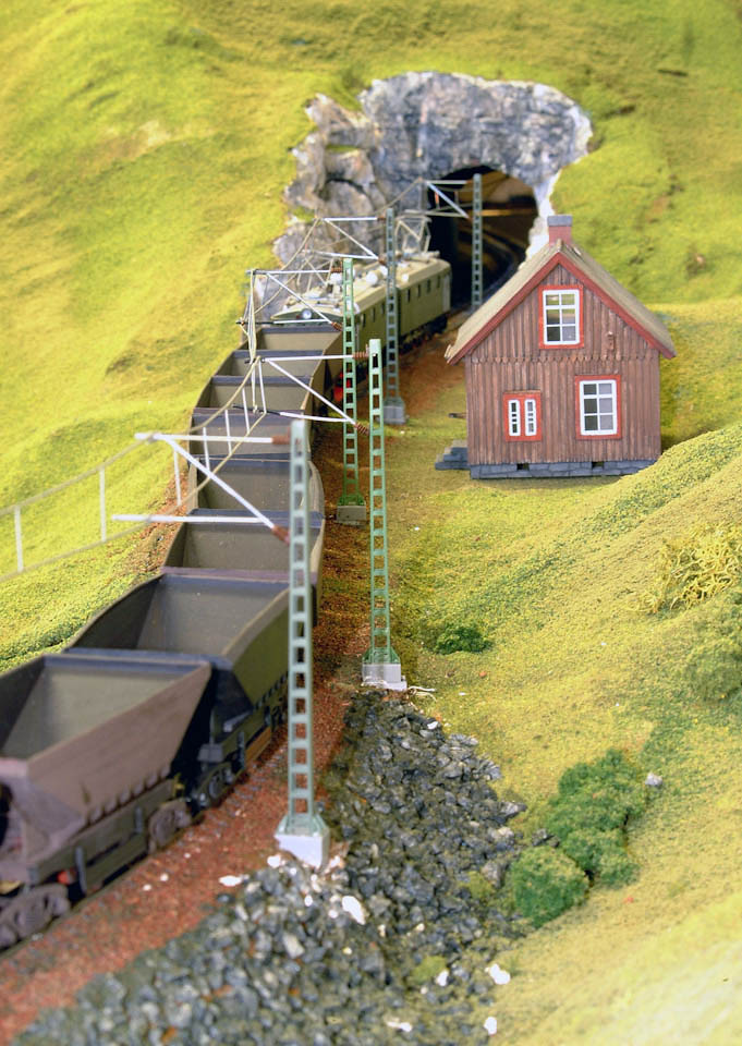 Ofoten Line H0 El12 (NMJ/Philotrain) Uadp (UGJ)  Banvaktarstuga (Artitec) Malmbanens Venner - Små Tog