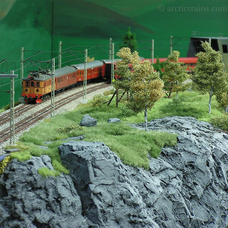 From the Iron Ore Line in H0 build by Michael Sandner, Ulm, photo by MS 2008