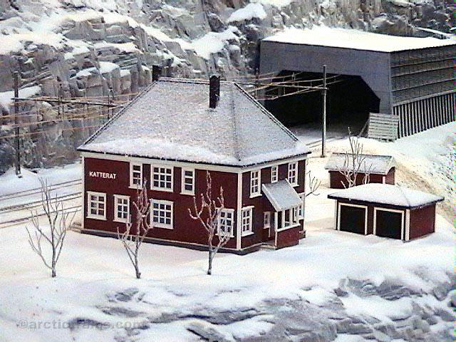 LKAB Infomine Katterat st H0 Viorel Boghean 2001-11-05 by VB