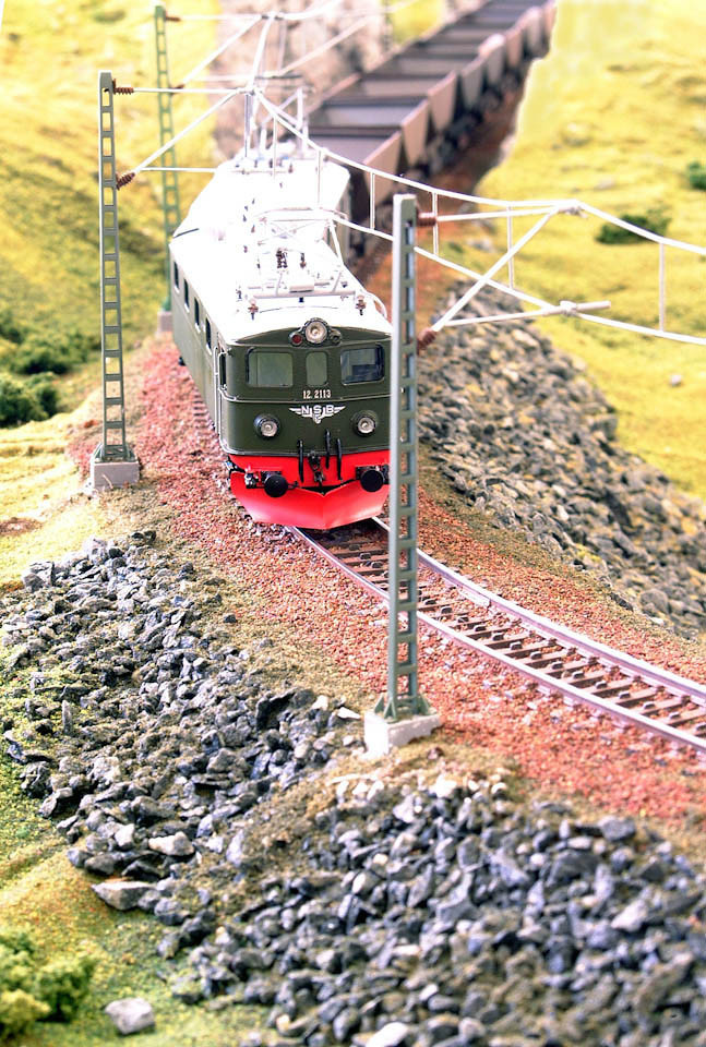 Ofoten Line H0 El12 (NMJ/Philotrain) Uadp (UGJ)  Malmbanens Venner - Små Tog
