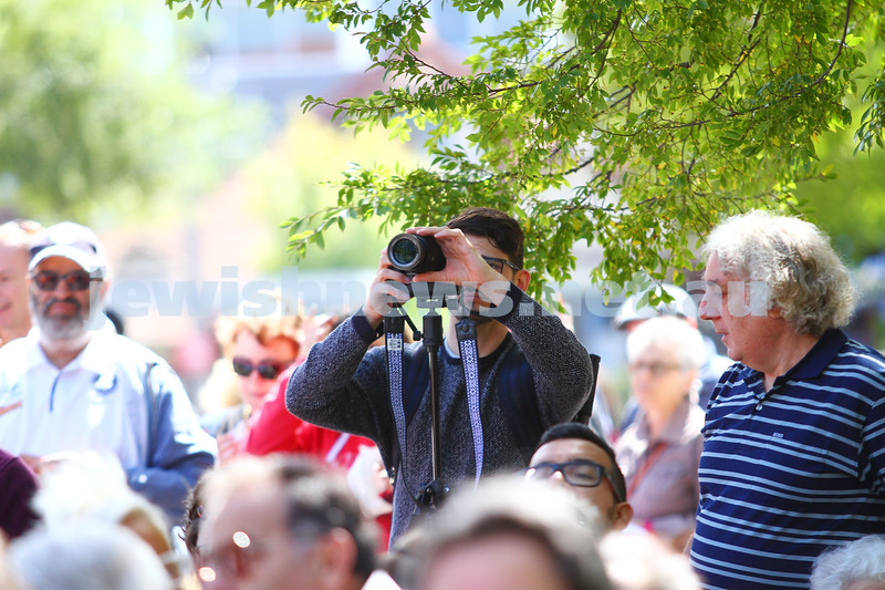 15-3-15. In One Voice street festival. Elsternwick. Photo: Peter Haskin