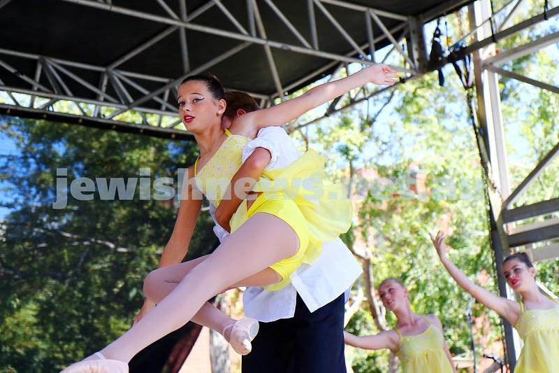 20-3-16. In One Voice 2016. Sefra Burstin School of Dance. Photo: Peter Haskin