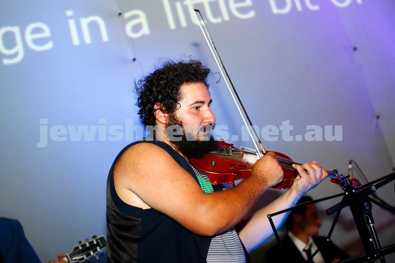 17-3-18. In One Night Concert, Elsternwick. Photo: Peter Haskin