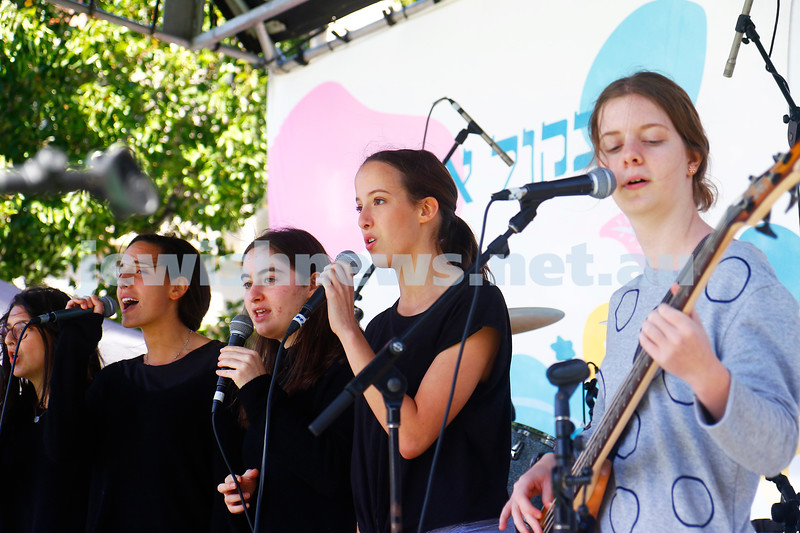17-3-18. In One Voice street festival, Elsternwick. Photo: Peter Haskin
