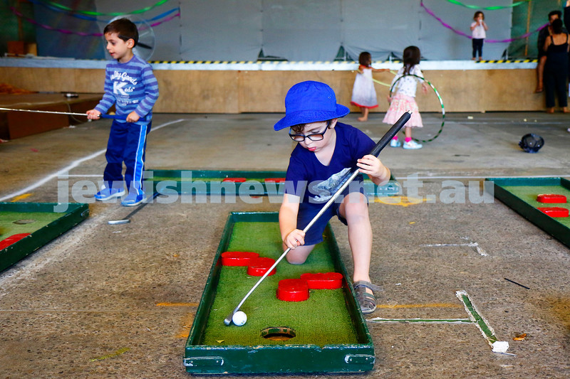 How about a bit of mini golf….how hard can it be?