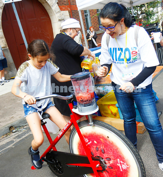 WIZO had the kids using peddle power for their juices.