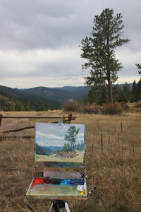 Pat Sheeran/Daggett's Easel, Mt. Falcon