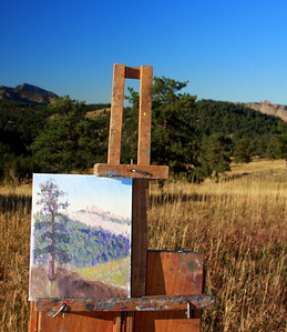The art of David Montgomery, White Ranch