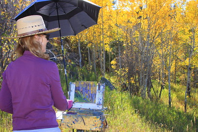 The art of Deborah McAllister, White Ranch