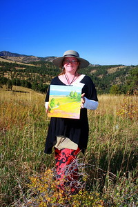 The art of Jeannette Stutzman, White Ranch