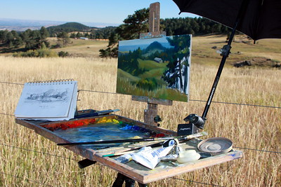 The art of Karin Toppel, White Ranch