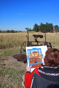 The art of Karen Spotts, White Ranch