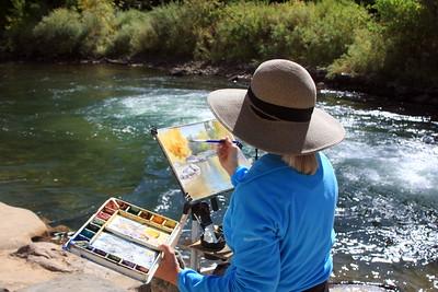 The Artist Anita Winter, Clear Creek