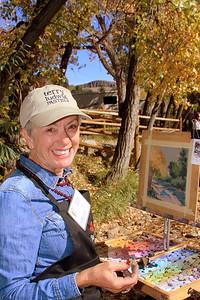 Clare's Smile, Clare Scott, Artist, Clear Creek
