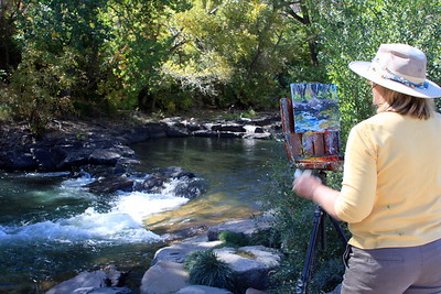 The Artist, Patty Dwyer, Clear Creek