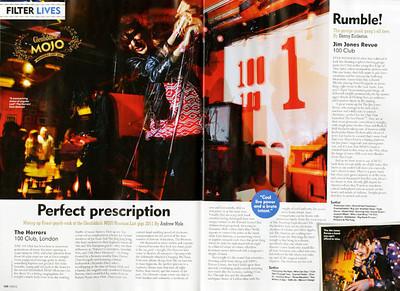 The Horrors  Mojo Magazine