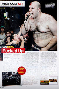 Fucked Up  Mojo Magazine
