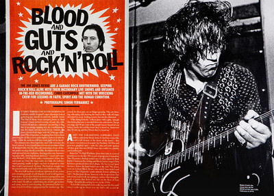 The Jim Jones Revue  Mojo Magazine