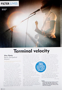 Bloc Party  Mojo Magazine
