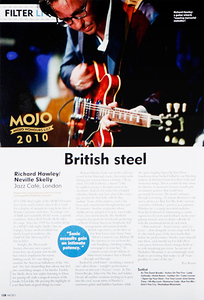 Richard Hawley  Mojo Magazine