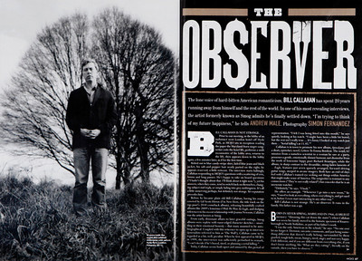 Bill Callahan  Mojo Magazine