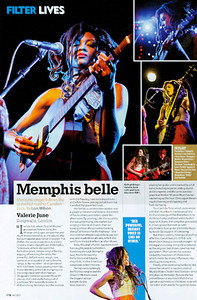 Valerie June  Mojo Magazine