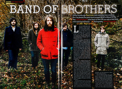 Fleet Foxes  Mojo Magazine