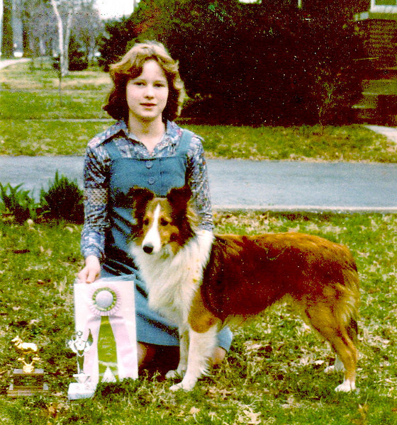 "Karashome's Childhood's Dream ""Prudence"" 1 year (1978)<br /> (Ch. Macdega The Chosen ex Briarhill Kenset Keepsake)"