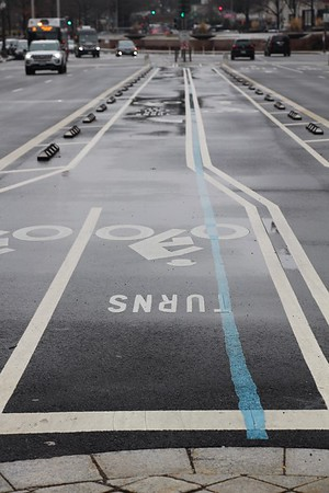 Bicycle Turn Lane