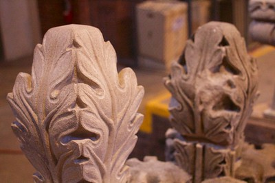 Carving Replacement Finial Stone